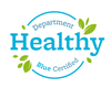 healthy department certification - Blue seal