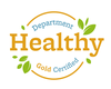 healthy department certification - Gold seal